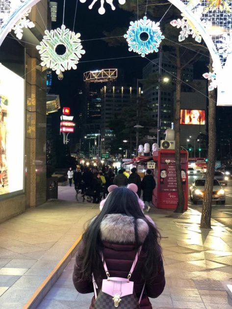ياسمين صبري وصورتها في كوريا