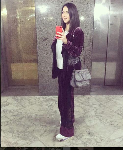 إيمي سمير غانم خرجت بملابس البيت! - صور