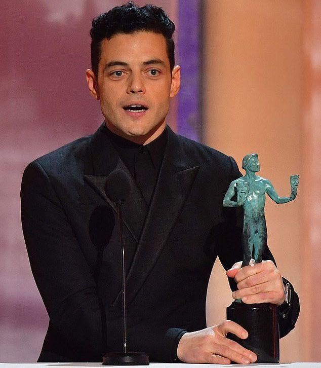 رامي مالك وجائزة نفابة ممثلي الشاشة