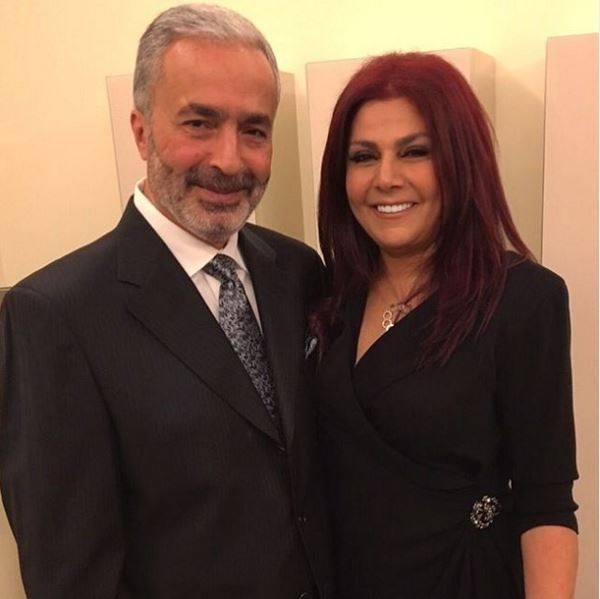 صباح الجزائري وزوجها اللبناني