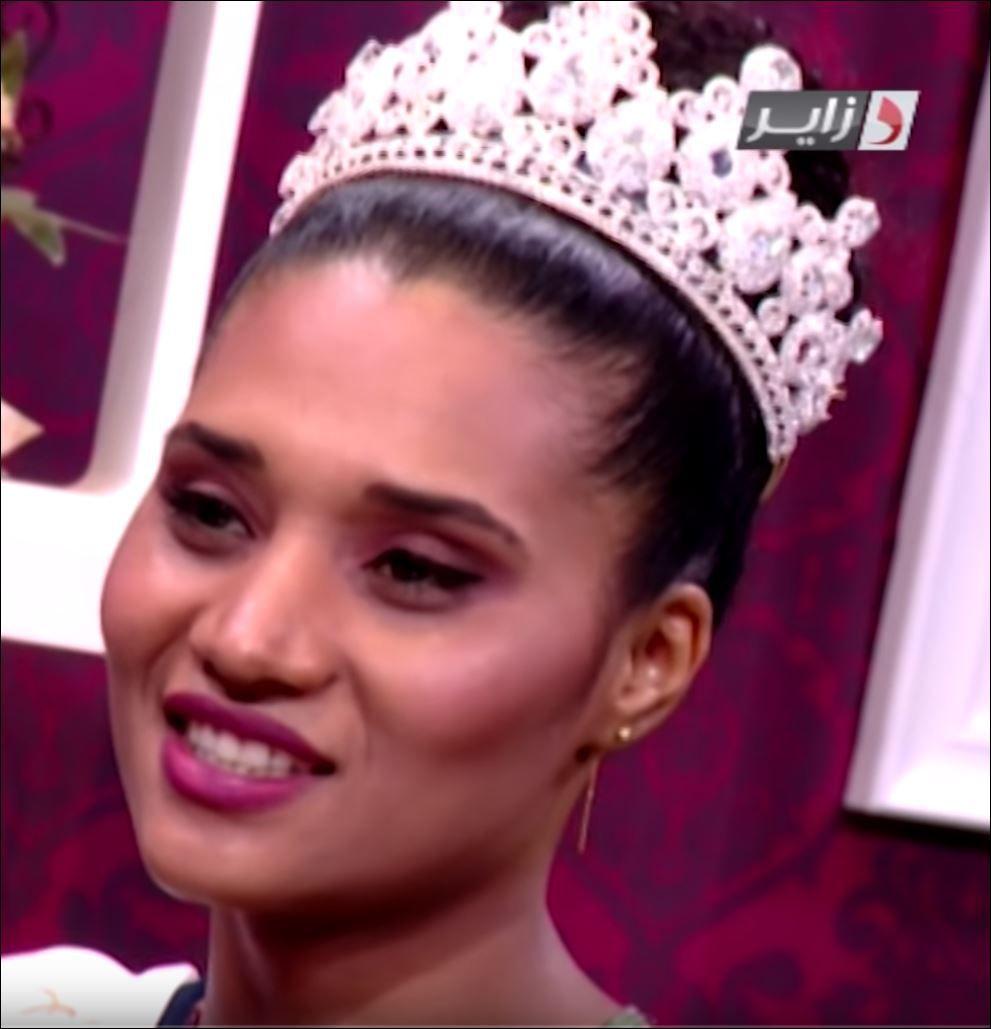 ملكة جمال الجزائر خديجة بن حمو