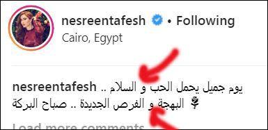 نسرين طافش الأمية في العربي وتحية للجين عمران