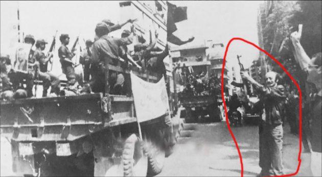 وليد جنبلاط يطلق النار اعتراضاً وحزناً على ترحيل الفلسطينيين