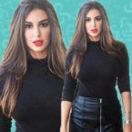 ياسمين صبري تطل بالشعر الكيرلي ولأول مرة لايف - فيديو