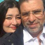 زوجة خالد يوسف السعودية تعلق على صوره الحميمية