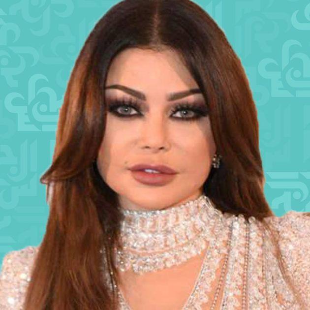 هيفا بفستان شورت في حفل رأس السنة - صورة