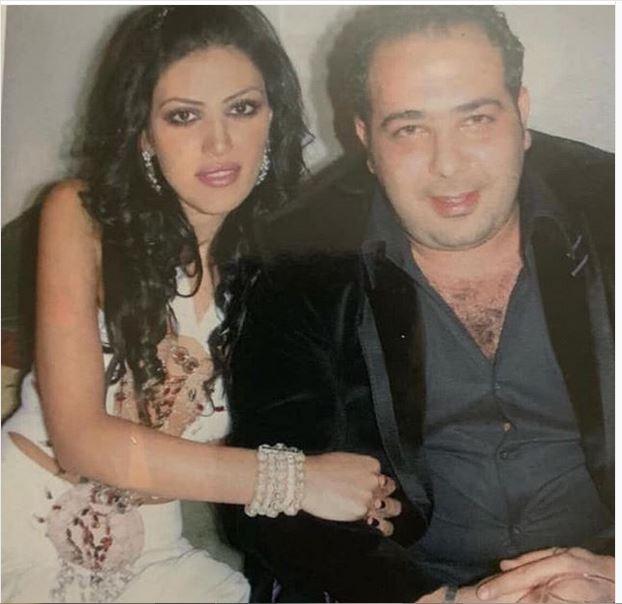 ريهام حجاج تشتم بسبب صورة مع زوجها اللبناني الزميل المصور الصحافي ميكي الأول!