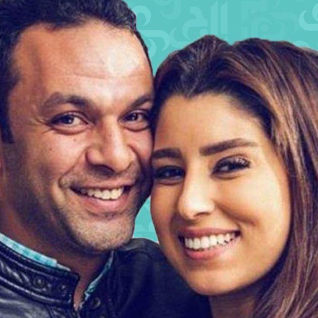 أيتن عامر وزوجها يحتفلان بعيد زواجهما - فيديو