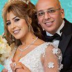 جنات تحتفل بعيدها وزوجها يتحسس الجنين! - صورة
