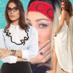 دينا الشربيني تدخل التحدي مع رانيا يوسف وزوجة تامر حسني - صور