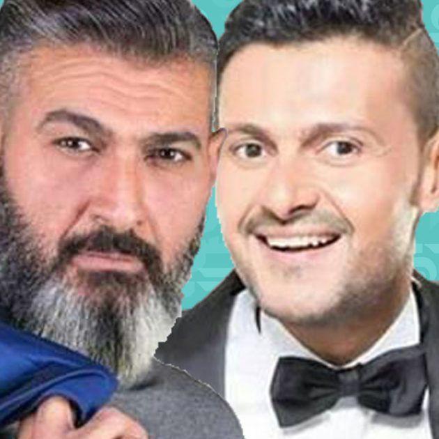رامز جلال بـ (دقن) شقيقه ياسر! - صورة