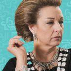 الممثلة السورية نادين الخوري لم تمت وليس تابوتها! - صورة