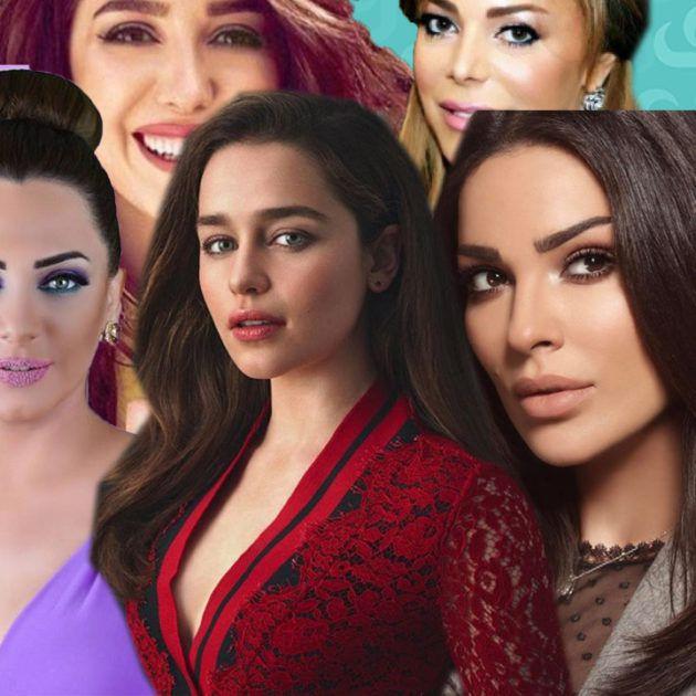 من أجمل الممثلة السورية أم اللبنانية؟