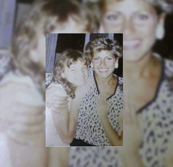 تولين البكري ووالدتها