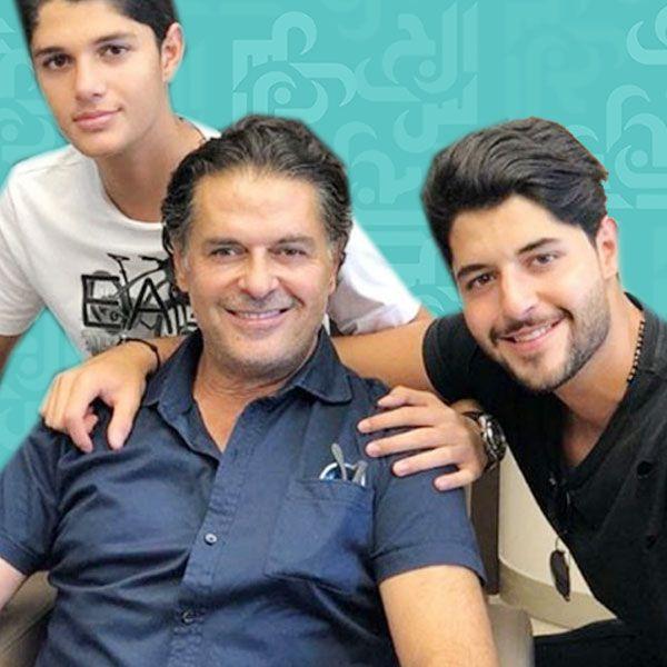 ابنا راغب علامة يستجمان بعدما تركا لبنان - صورة