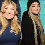 سهير رمزي تحتفل بعيدها مع النجوم وبدون حجاب - صور