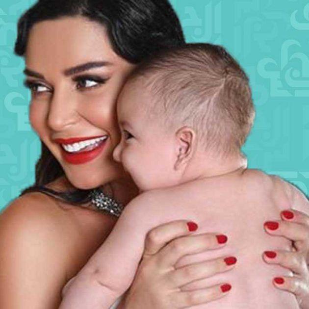 سيرين عبد النور وابنها: بدو ينام ويلعب! - فيديو