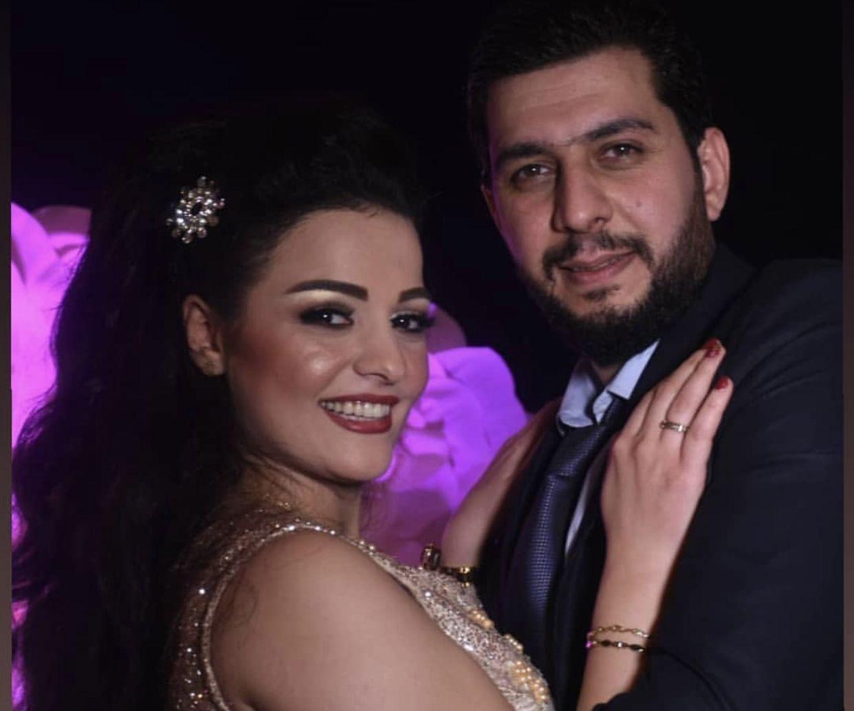 زواج الممثلة السورية - صورة