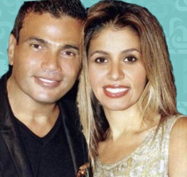 زوجة عمرو دياب السعودية تحتفل بابنتها
