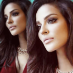 القاء القبض على نادين نجيم في (خمسة ونص) - فيديو