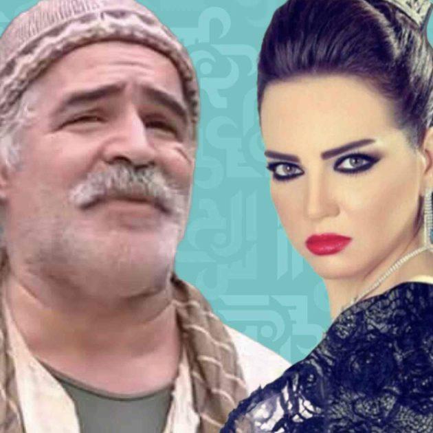 نزار أبو حجر يهاجم باب الحارة وصفاء سلطان تدعمه