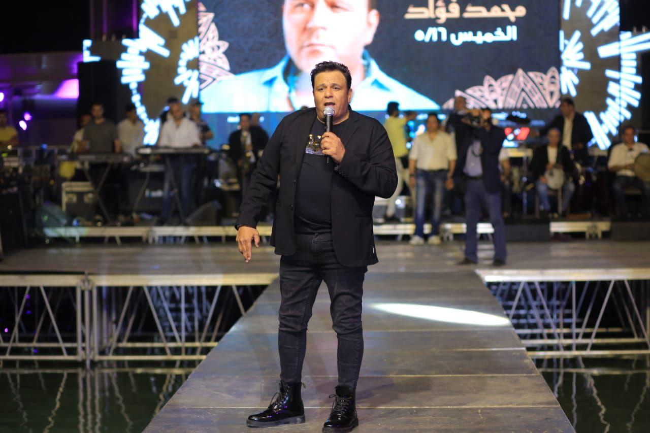 جمهور محمد فؤاد تفاعل معه