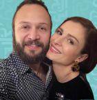 مكسيم خليل وزوجته سوسن أرشيد
