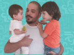 داليدا عياش تنشر صور رامي مع طفليهما