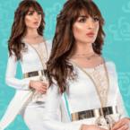 فلة الجزائرية وسهيلة بن لشهب تنعيان محمد الخامس - صورة