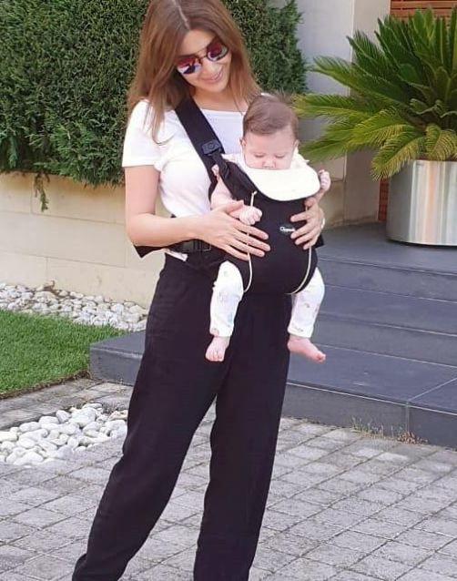 نانسي عجرم مع ابنتها ليا