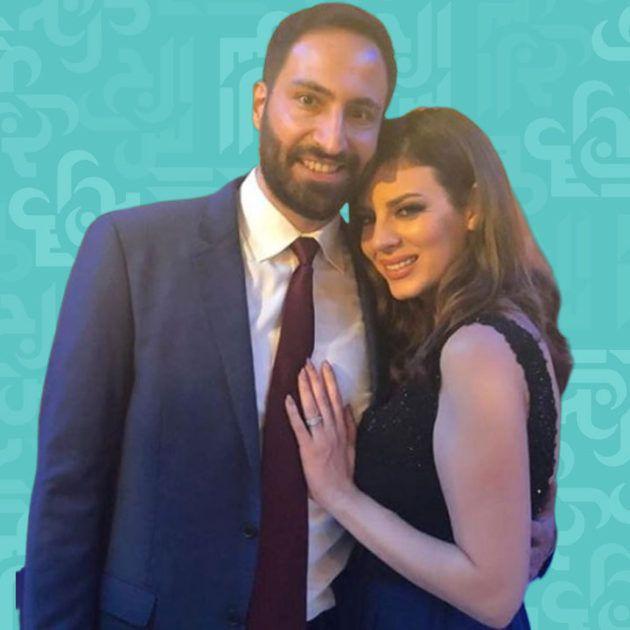 بهاء الكافي وزوجها اللبناني يخضعان لفحوصات كورونا - صورة