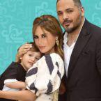 رامي عياش وزوجته وطفلاه وصورتهم تتحدث عنهم! - صورة