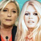 ماري لوبان وبريجيت باردو تطالبان بطرد 12 مليون جزائري من فرنسا - فيديو