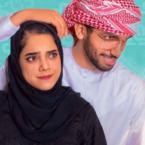 مشاعل الشحي تنزع الحجاب وزوجها يدافع عنها- فيديو