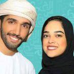 ممثل اماراتية ركلت زوجها بقوة - فيديو
