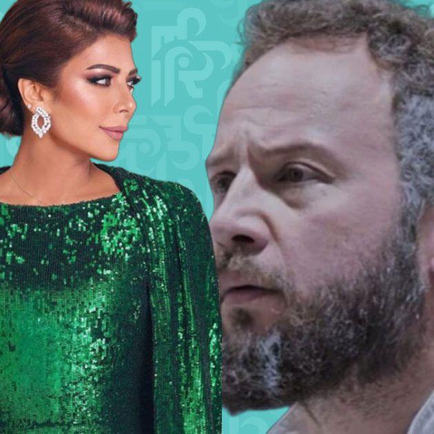 مكسيم خليل مع أصالة نصري ضد إليسا ولو يخرسان - صورة