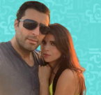 باسم ياخور يغازل زوجته الجميلة
