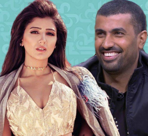 محمد سامي هكذا تغزّل بزوجته - صورة