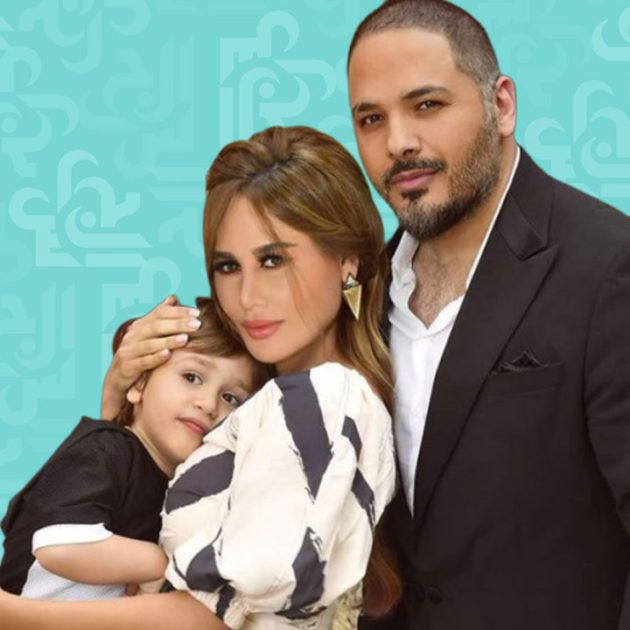 ابن رامي عياش الحنون هكذا يقبّل والدته داليدا - فيديو