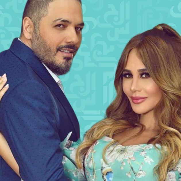 رامي عياش وزوجته ما أجملهما - فيديو