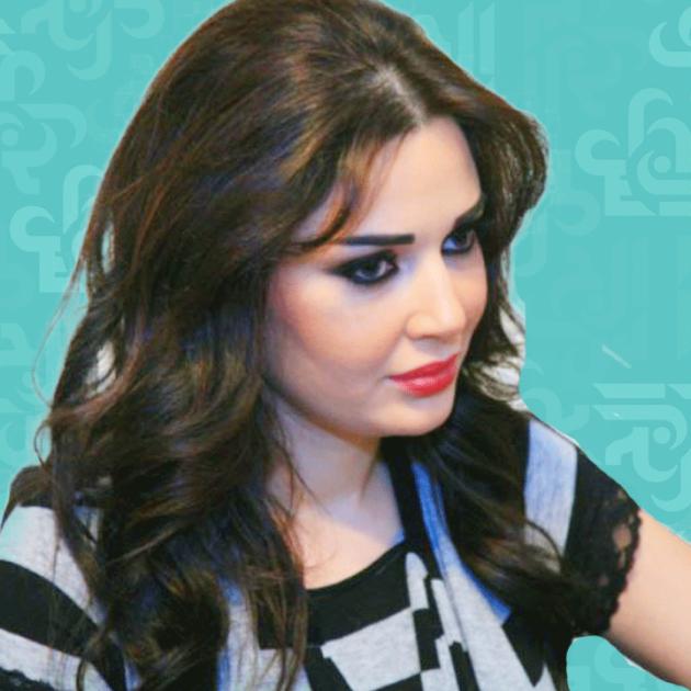 سيرين عبد النور من يعانقها من الخلف؟ - فيديو