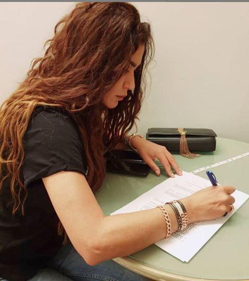 نادين الراسي تخطت مشاكلها وعادت - صورة