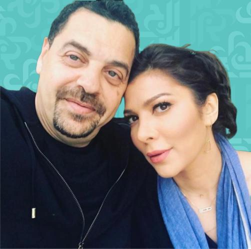 بعد القبلة .. أصالة ولقطات حميمية مع زوجها - صور