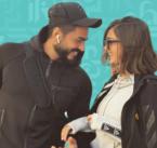 تامر حسني احتفل بعيده مع زوجته - صورة