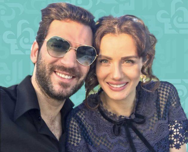 مراد التركي وزوجته بلقطات رومانسية وإليسا - فيديو