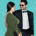 أحمد الفيشاوي وزوجته يضعان النقاط على الحروف - صورة