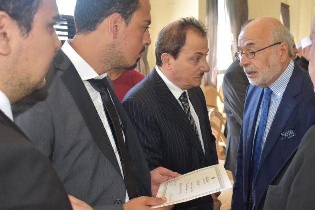 وزير التربية والتعليم العالي أكرم شهيب قدم شهادة تقدير وحضر العزاء