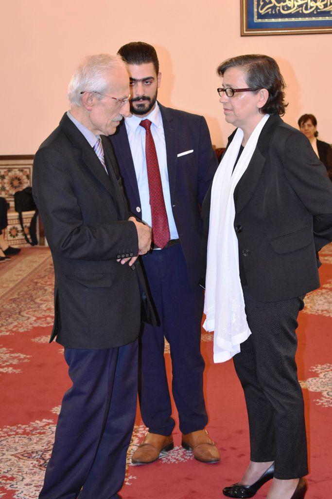 الدكتور آسيا المهتار وجا شيا