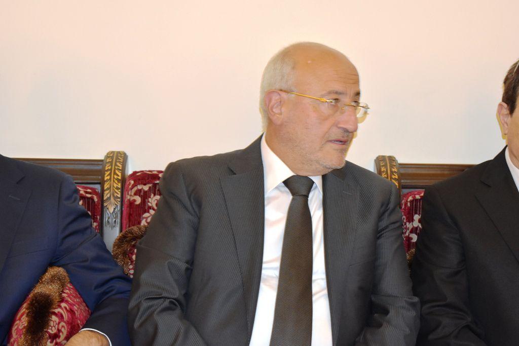الوزير السابق غازي العريضي