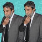 أيمن رضا مع ابنيه الشابين